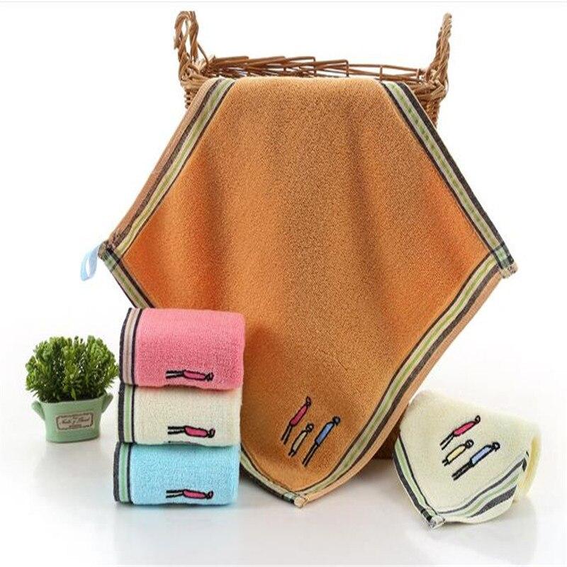 Pure Cotton Big Squares Kindergarten Children Custom Face Towel Baby Daily Necessities Soft, Absorbent Towel 8018