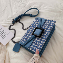 MONNET CAUTHY New Arrivals Bags Women Classic Fashion Vintage Style Crossbody Bag Patchwork Color Blue Beige Green Yellow Flap