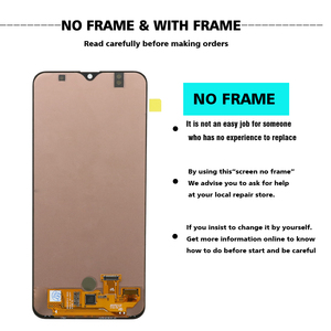 "Image 2 - Original 6.4 ""AMOLED สำหรับ Samsung Galaxy A30s A307F A307 A307FN หน้าจอ LCD เปลี่ยน Digitizer ASSEMBLY + แพคเกจบริการ"
