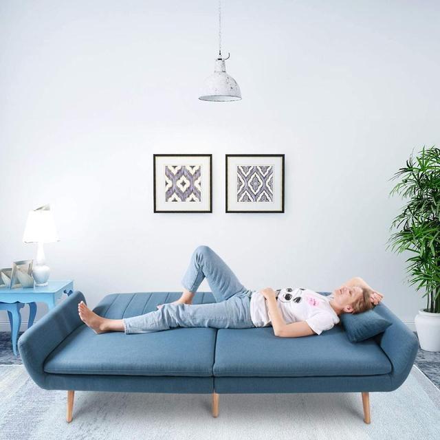 Sofa Futon Bed, Convertible Sleeper Couch  2