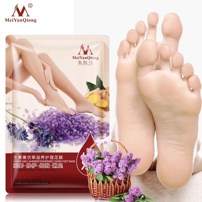 Super 1Packs Peeling Feet Mask Exfoliating Socks Baby Care Pedicure Socks Remove Dead Skin Peeling Cuticles Heel Feet Care Cream