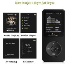 Touch screen and built-in 16G HiFi portable walkman with radio /FM/ recording New Version MP3 Player with bluetooth Speaker цена и фото