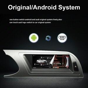 """Image 5 - 8 Core 8.8 """"unité de tête de voiture pour Audi A4 B8 2009 2016 Android 9.0 système WIFI Google IPS Touch stéréo BT Carplay 4G LTE 4 + 64G GPS"""