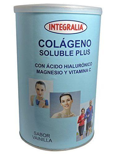 COLAGENO SOLUBLE PLUS HIALURONICO MAGNESIO 360 G. INTEGRALIA