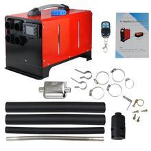 24 В 5000 Вт портативный одна машина ЖК-нагреватель воздуха дистанционное управление красный парковка топлива Многофункциональный экономичный