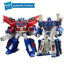 Hasbro transformadores brinquedos gerações guerra para cybertron siege líder WFC S40 galaxy atualizar optimus prime shockwave ultra magnus