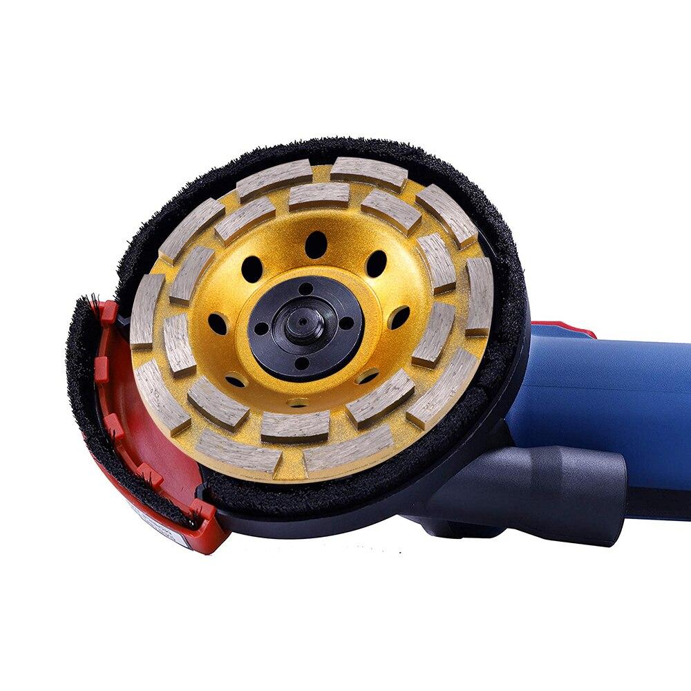 125mm Double Row Cup Grinding Wheel Bowl Shape Grinding Cup Concrete Sanding Disc Abrasives Concrete Wheel Pot Cup Wheel Tool