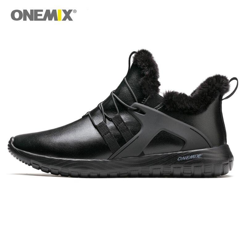 Running-Shoes Sport-Sneakers Outdoor Zapatos-De-Hombre Autumn Winter Thicken Warm Upper