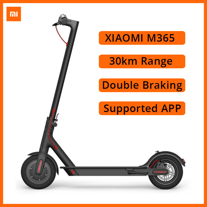 Xiaomi M365 <font><b>Electric</b></font> <font><b>Scooter</b></font> 30km Range Double Braking Shock-absorbing 8.5inch Tires with <font><b>250W</b></font> Motor Mi Floding <font><b>Electric</b></font> <font><b>Scooter</b></font> image
