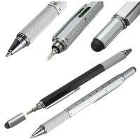 8 색 소설 다기능 스크루 드라이버 볼펜 터치 스크린 plasti 선물 도구 학교 사무실 supplie 편지지 펜