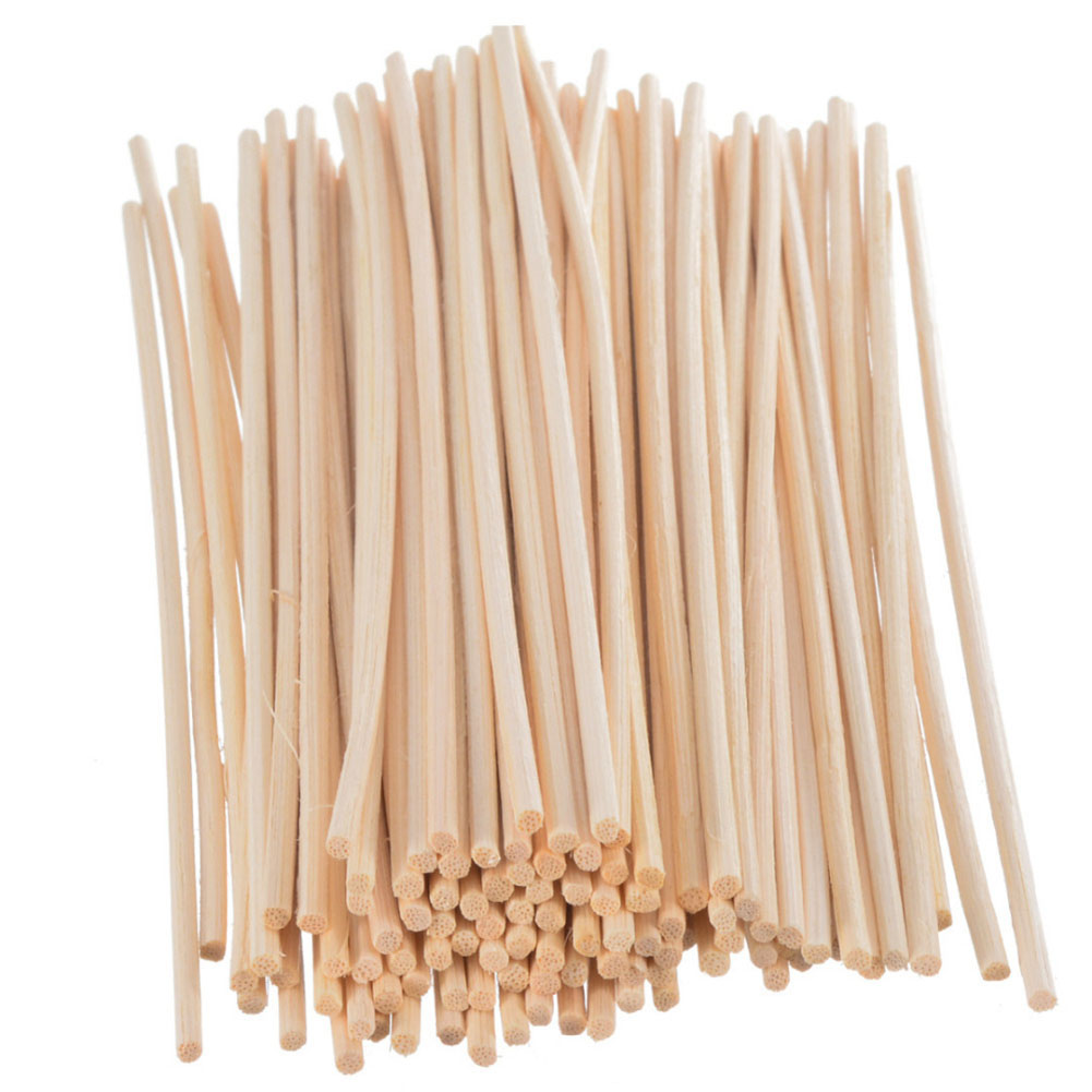 30/40/50/100pc Rattan Reed Sticks Fragrance Reed Diffuser Aroma Oil Diffuser Rattan Sticks for Home Bathrooms Fragrance Diffuser|Reed Diffuser Sticks|   - title=