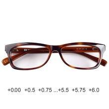 Mulheres de acetato de óculos de leitura de qualidade Alemanha 0.25 0.5 0.75 3 2 1 1.25 1.5 1.75 2.25 2.5 2.75 3.25 3.5 3.75 4.25 4.5 4.75 5 4 5.