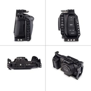 Image 2 - MAGICRIG BMPCC 4K Cage with NATO Handle for Blackmagic Pocket Cinema Camera BMPCC 4K /BMPCC 6K to Mount Microphone Monitor Flash