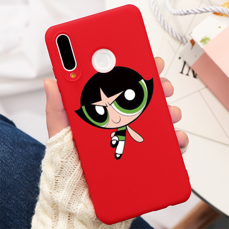 Cute Ins Police Superman TPU Case For Huawei P20 P30 P40 Mate Honor 20 10 Lite Pro 10I 8X 9X 8A 9 Y6 Y7 Y9 P Smart 2019 Z Fundas