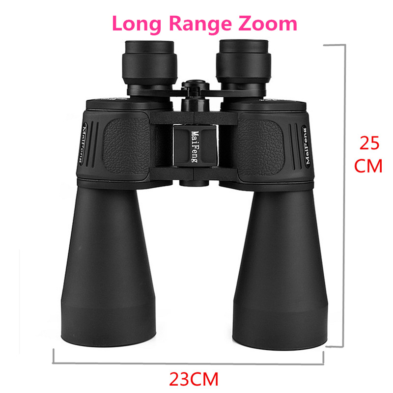 Long Range Zoom MaiFeng 60x90 Waterproof binoculars High Definition Telescope Big Eyes night vision Binocular for Hunting Hiking image