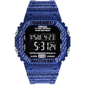 Mężczyźni LED zegarki cyfrowe SMAEL silikonowy kamuflaż zegarki mężczyźni zegarki wojskowe mężczyzna zegar 1801 zegarki sportowe wodoodporny tanie i dobre opinie SANDA Cyfrowy Z tworzywa sztucznego 23cminch Klamra 5Bar 17 5mmmm Akrylowe Stoper Podświetlenie Odporny na wstrząsy Wyświetlacz led