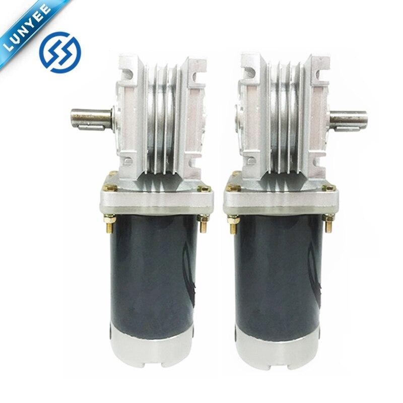 Electric 12v 24 V Dc Worm Gear Motor