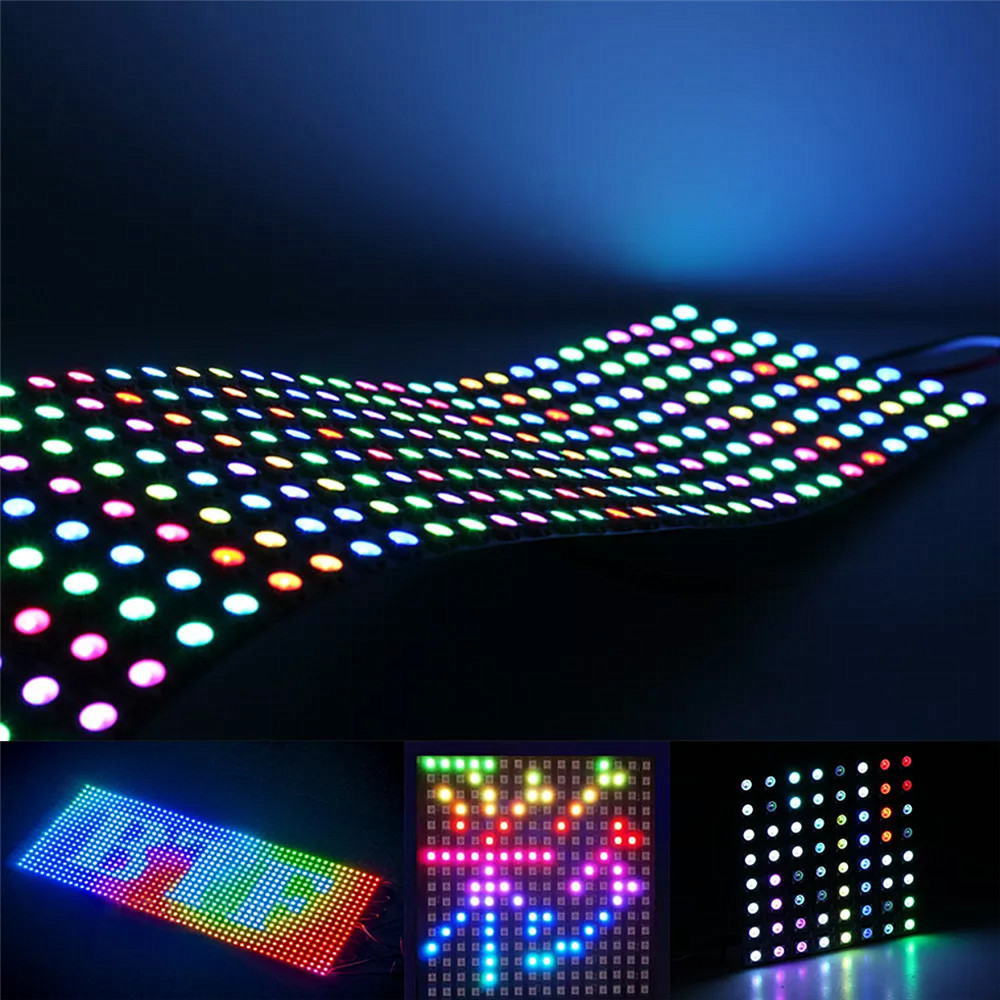 WS2812B LED Digital Flexible light Display Board