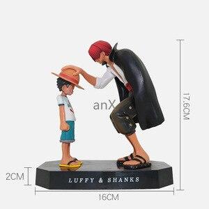 Image 3 - 15cm אנימה חתיכה אחת ארבעה קיסרים נקס קש כובע לופי PVC פעולה איור הולך שמח בובת אסיפה דגם צעצוע צלמית