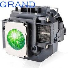GRAND заменяемая прожекторная лампа ELPLP54 для EPSON PowerLite HC 705HD 79/S7 S8 W7 H309A H309C H310C H311B H311C с корпусом