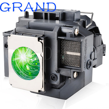 GRAND projektor zastępczy lampa ELPLP54 dla EPSON PowerLite HC 705HD 79 S7 S8 W7 H309A H309C H310C H311B H311C z obudową tanie i dobre opinie HAPPY BATE V13H010L54 180 days Replacement Projector Lamp With Housing EH-TW450 EX31 EX51 EX71 200W
