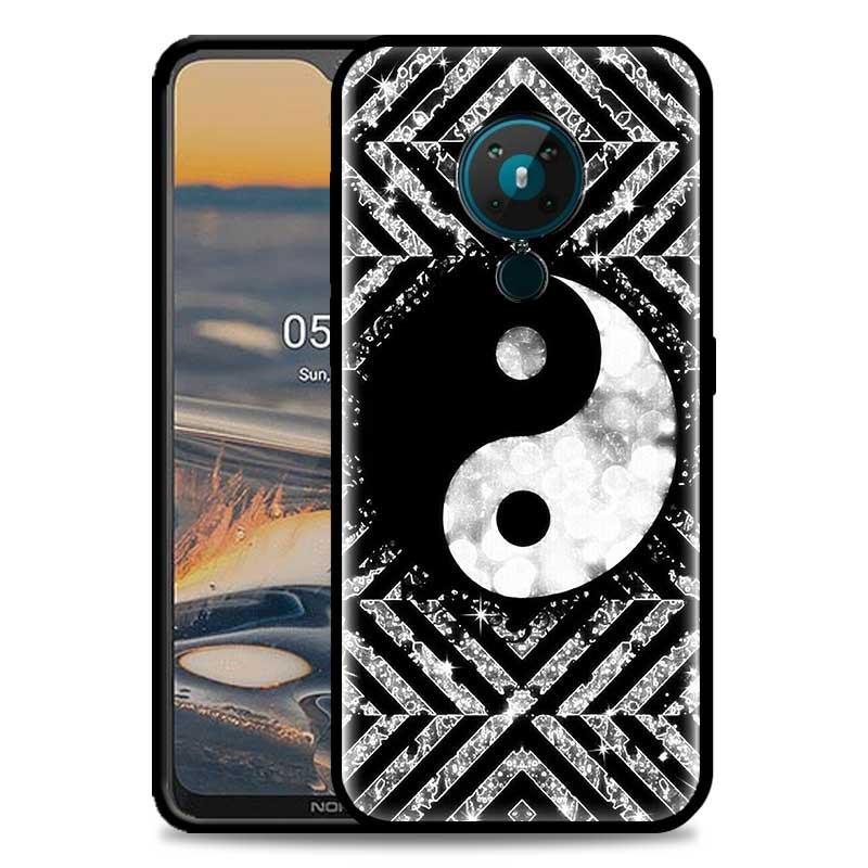 Yin Yang Gossip Chinese Mystical Phone Case For Nokia 5.4 1.4 7.2 5.3 2.3 3.4 3.2 4.2 2.4 8.3 5G