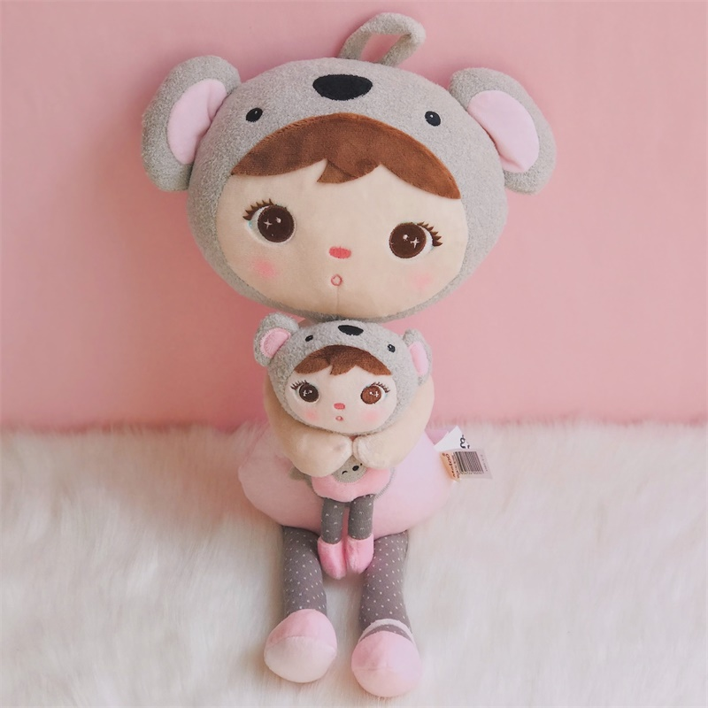 Metoo Plush Toys Stuffed Dolls Keppel Koala With Box Plush Koala Girl Gift Toys For Kids Birthday 2 Set