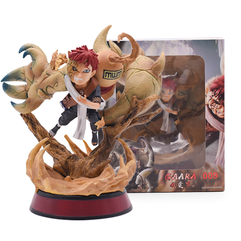 Naruto Anime Action Figures 14Cm Gaara Speelgoed Figurine Kerstcadeau Japanse Pvc Figure Model Pop Geschenken