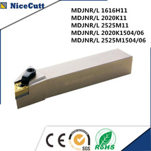 Lathe tool MDJNL External Turning Tool with High Quality for DNMG Series Insert Free shipping NiceCutt pdjnr l2020k1504 nicecutt external turning tool holder for dnmg insert lathe tool holder