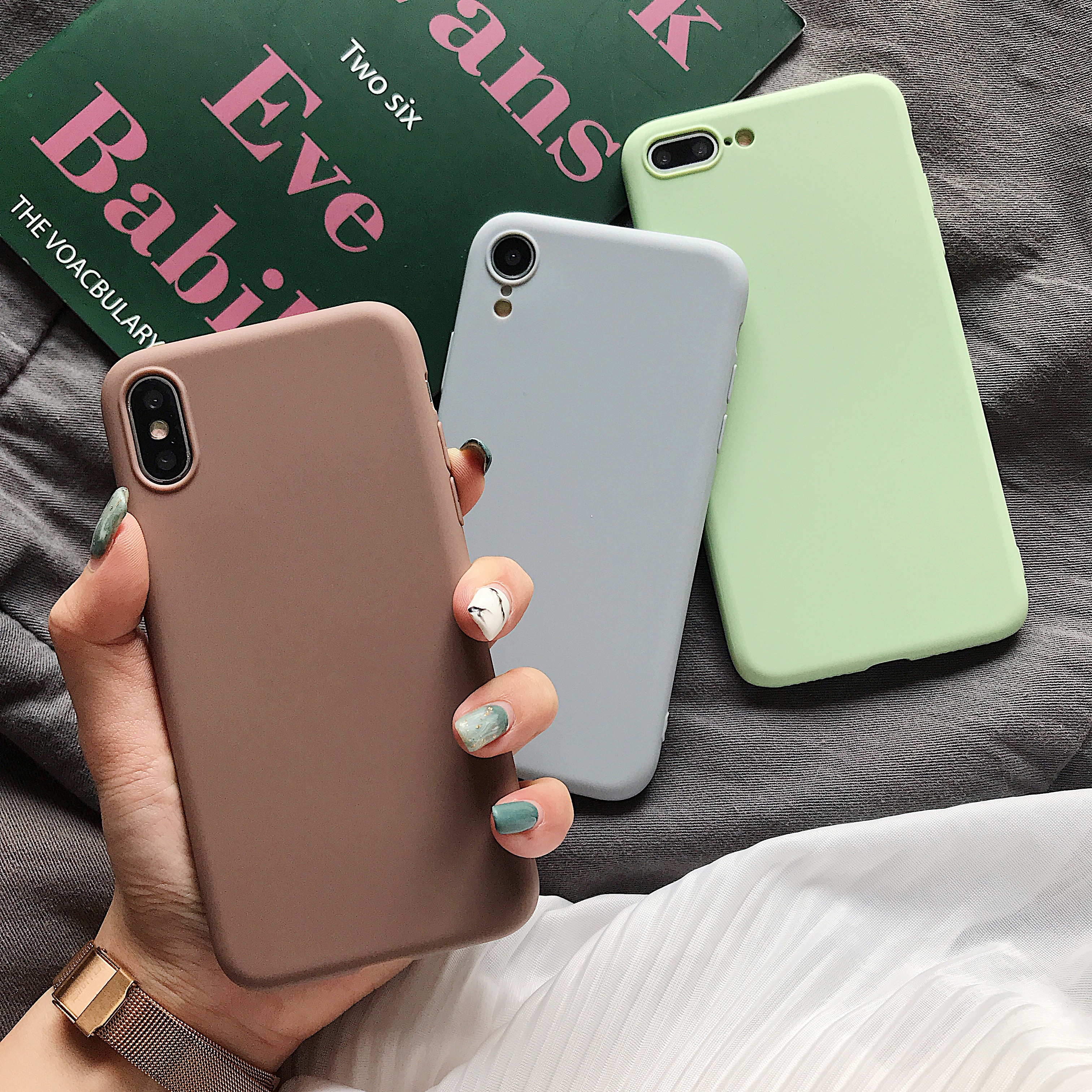 TTLOOF Silicone <font><b>Case</b></font> For Xiaomi Mi 9 SE <font><b>case</b></font> <font><b>xiomi</b></font> Xiaomi <font><b>redmi</b></font> 7 7A 4A <font><b>4X</b></font> 5 Plus 5A <font><b>Note</b></font> 4 <font><b>4X</b></font> 6 7 K20 Pro Color Soft <font><b>TPU</b></font> Cover image