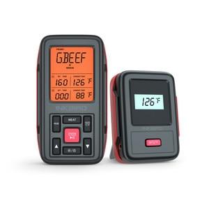 Image 2 - Inkbird zdalne sterowanie bezprzewodowe użytkowanie w domu termometr RF IRF 2SA 500 stóp do gotowania Grill palacz z dwoma sondami do żywności
