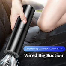 Car-Vacuum-Cleaner Aspirador Strong-Suction Powerful Handheld Auto Home 120W for Wet/dry