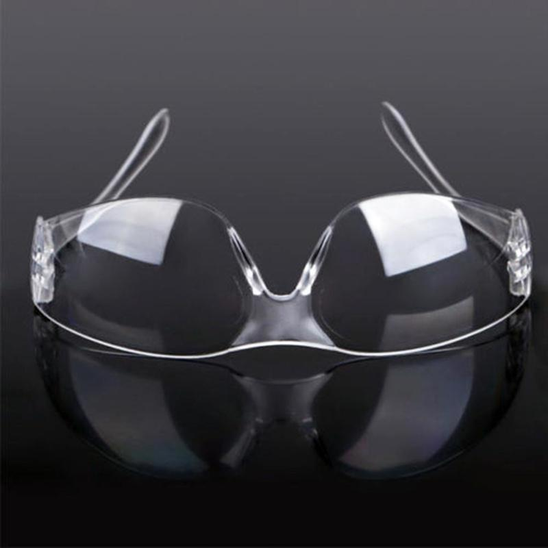 Anti-dust Outdoor Work Eye Protective Glasses Anti-impact Factory Lab Safety Goggles Glasses Lightweight Spectacles