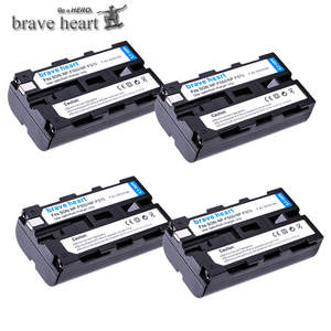 Battery F550 Rechargeable Sony NP-F970 Li-Ion-Camera for Np-f330/Np-f530/Np-f570/.. 4pcs