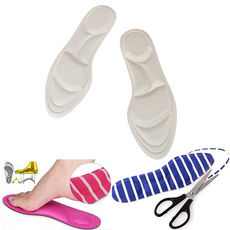 4D akın bellek köpük ortez ayakkabı astarı düz ayak ayak bakımı taban ayakkabı ortopedik pedleri Arch destek ortopedik tabanlık