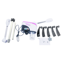 Household Double Tube Ionic Spraying Machine Facial Steamer Salon Spa Ozone Steaming Skin Care Machine US Plug