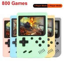 Mini handheld console de jogos de vídeo para crianças portátil jogos de tijolo consolas arcade para o jogador de jogos do menino