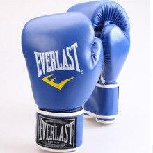 Боксерские перчатки стиль Америка INS супер огонь боксерские перчатки Муай Тай Санда только боксерские перчатки черный синий и красный белый розовый Бо