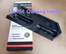 Pour PS4 ultra mince charge dissipateur de chaleur ventilateur de refroidissement refroidisseur support Vertical pour Sony Playstation 4 avec double contrôleurs chargeur
