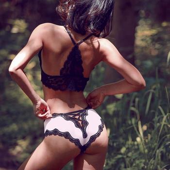 Bandage Deign Hollow Out Silk Sexy Panties INTIMATES Panties