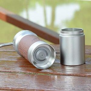 Image 4 - 1zpresso k pro kahve değirmeni taşınabilir manuel kahve değirmeni 304 paslanmaz çelik çapak ayarlanabilir 40mm özel çapak