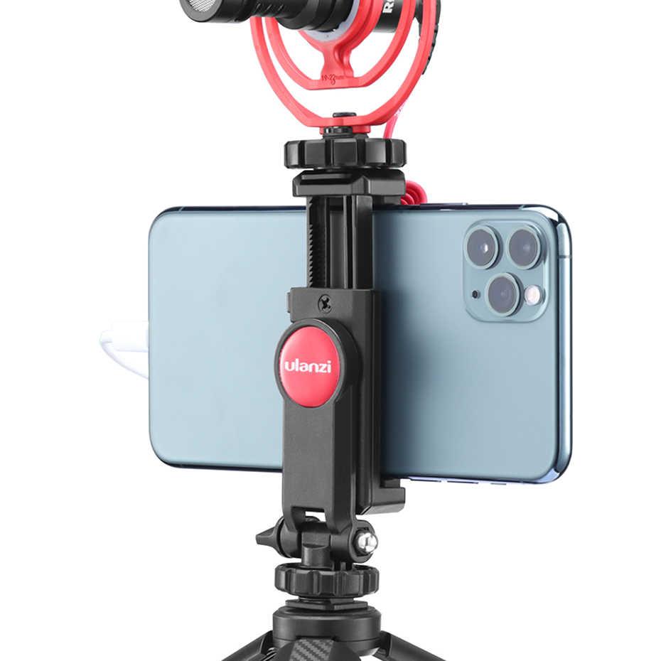 1pc Ulanzi ST-06 Adjustable Phone Tripod Holder Camera Video Monitoring Support