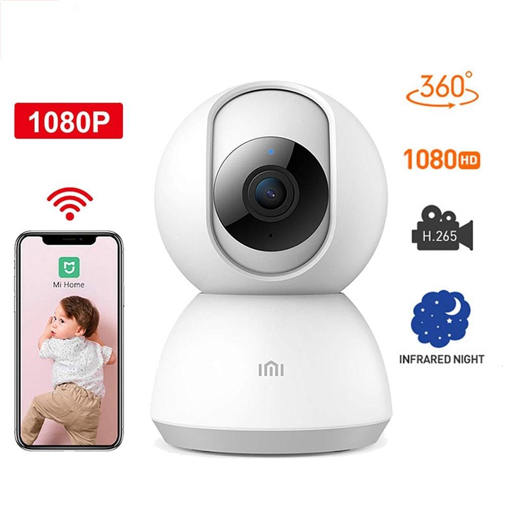 Xiaomi Mijia 360 Degree Night Version IP Smart Camera WiFi Voice Baby Monitor Webcam For Mi Home - Global Version Wireless Cam