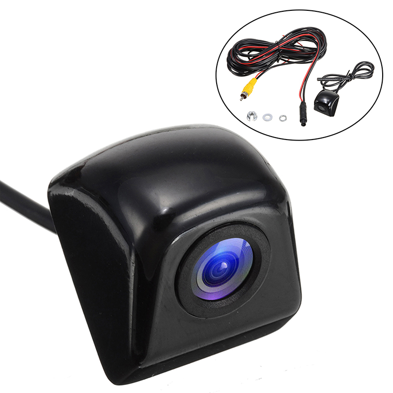 1pc 170 Degree Fish Eye Lens Starlight Night Vision Vehicle Rear Front View Car Camera Low-light Level Auto Camera