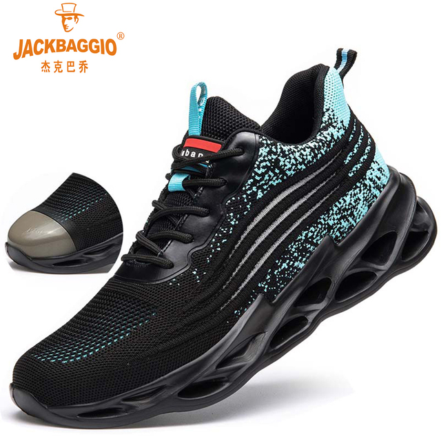 Men Safety Shoes Breathable Casual