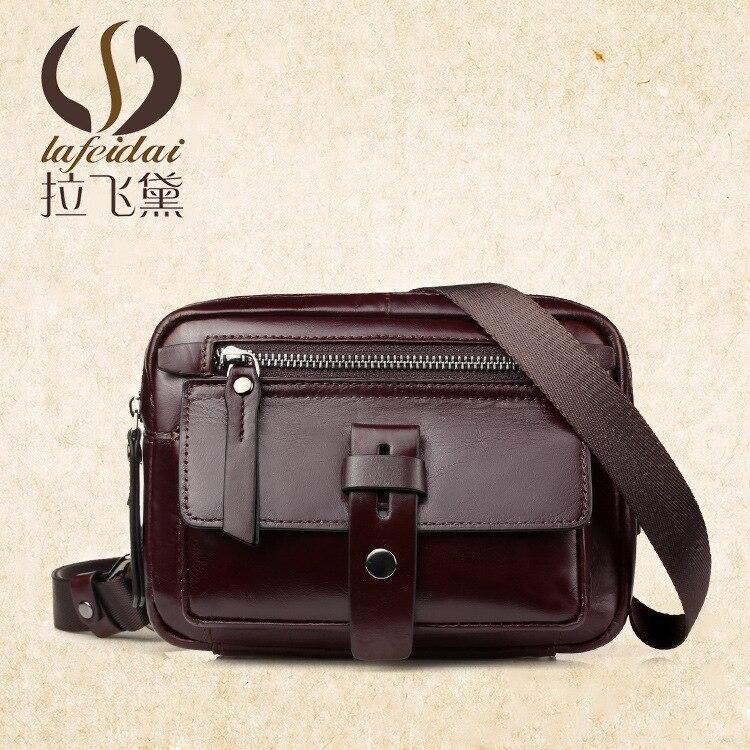 Pull Fly Dai nouveau Style sac en cuir pour hommes style coréen sac à bandoulière décontracté sac à bandoulière en cuir de vachette sac Messenger pour hommes une génération de F