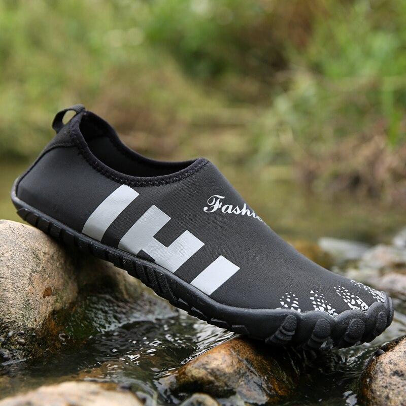 2021 verão sapatos de água homens tênis
