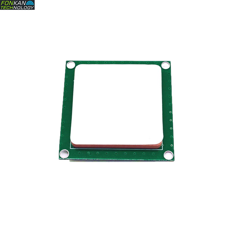 FONKAN ISO18000-6C UHF RFID 50*50MM Antenna Integrated Module With 3dbi Antenna For Raspberry Pi TTL232 3.3V Interface