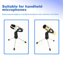 Microphone Mic Stand Tripod Bracket Portable Zinc Alloy Desktop Table Adjustable Holder AS99(China)