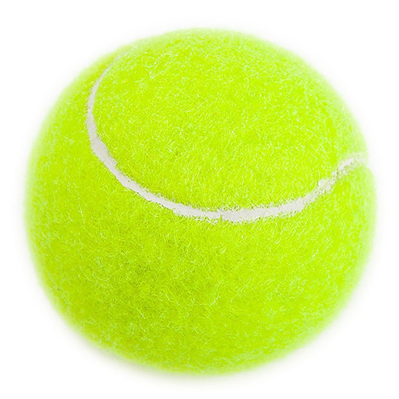 Super Sell-Practice Tennis Balls, Pressureless Training Exercise Tennis Balls, Soft Rubber Tennis Balls Children Beginners Pet,